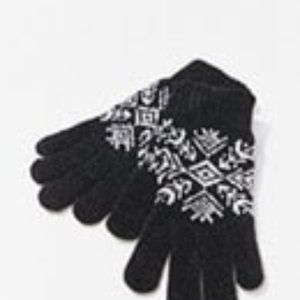 NWT Black & White Womens Gloves